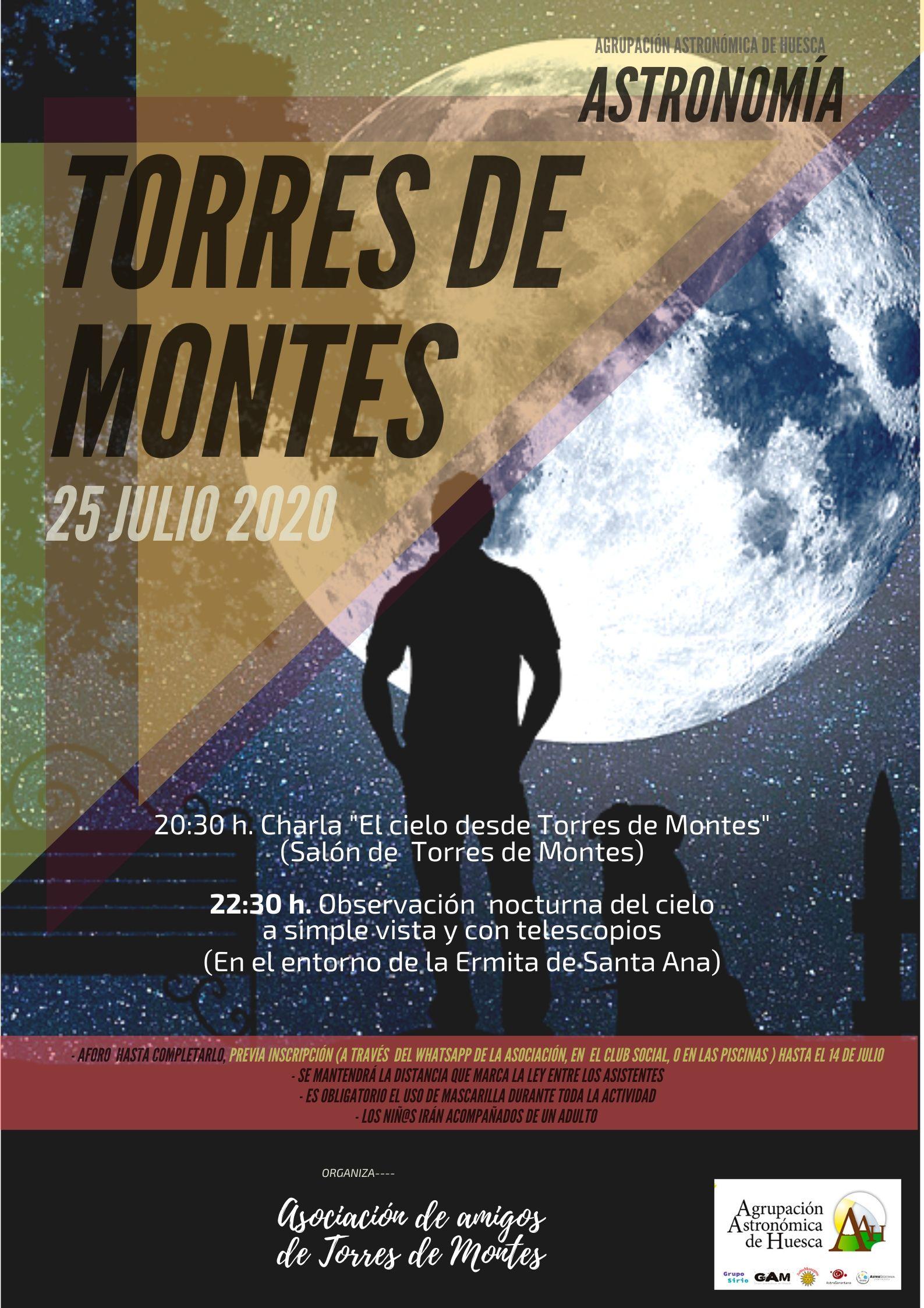Actividad Torres de Montes