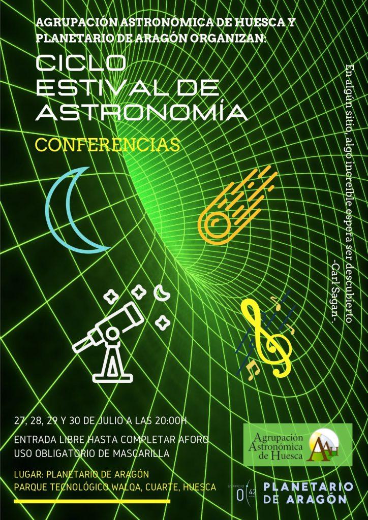 cartel ciclo estival de astronomia