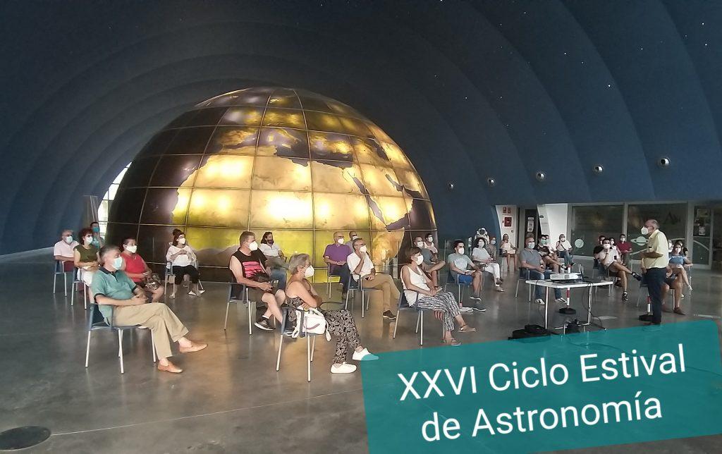 Ciclo Estival de Astronomía. Manuel Membrado