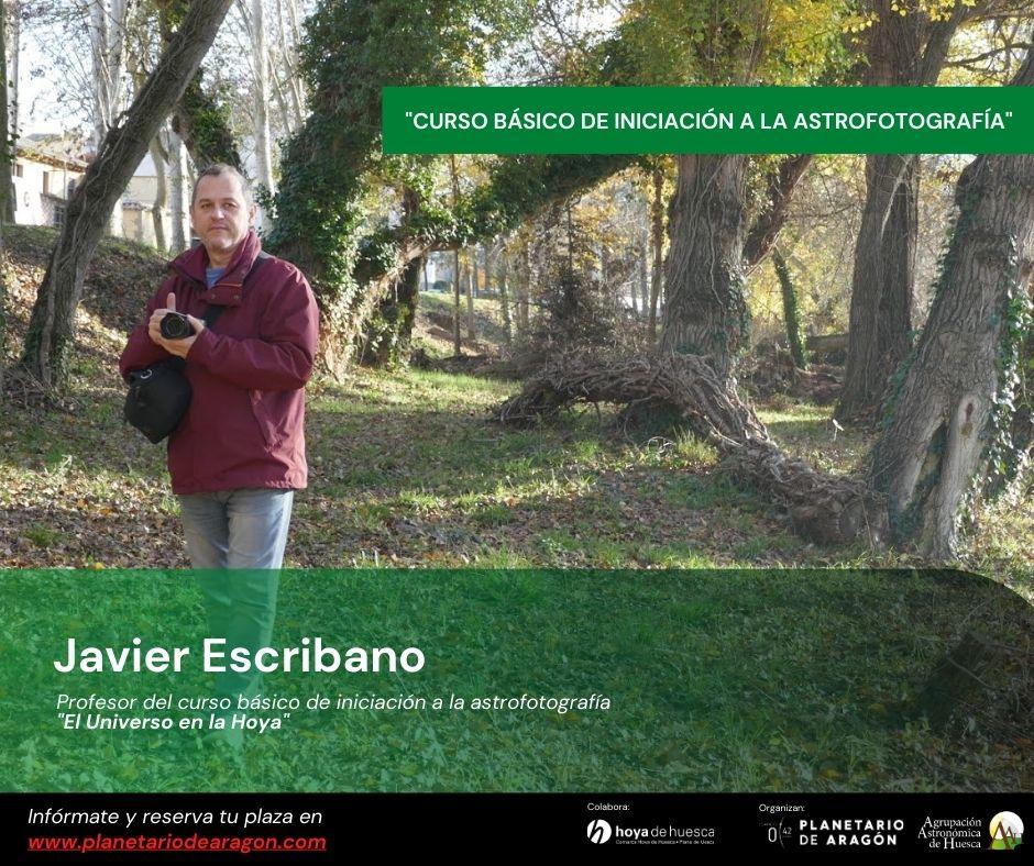 Javier Escribano profesor